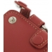 iPod Classic 80GB Leather Sleeve Case with Clip (Red) handmade leather case by PDair