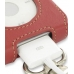 iPod Classic 80GB Leather Sleeve Case with Clip (Red) genuine leather case by PDair