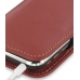 iPhone 3G 3Gs Leather Sleeve Pouch Case (Red) genuine leather case by PDair
