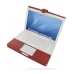 MacBook 2008 13 Leather Flip Cover (Red) offers worldwide free shipping by PDair