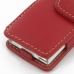 iPod nano 8th / nano 7th Leather Flip Cover (Red) protective carrying case by PDair