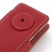 iPod nano 8th / nano 7th Leather Flip Cover (Red) handmade leather case by PDair