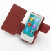 iPod nano 8th / nano 7th Leather Flip Cover (Red) top quality leather case by PDair