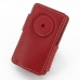 iPod nano 8th / nano 7th Leather Flip Cover (Red) custom degsined carrying case by PDair