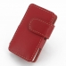 iPod nano 8th / nano 7th Leather Flip Cover (Red) offers worldwide free shipping by PDair