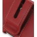 iPhone 4 4s Leather Holster Case (Red) protective carrying case by PDair