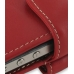 iPhone 4 4s Leather Holster Case (Red) handmade leather case by PDair