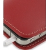 iPhone 4 4s Leather Sleeve Pouch Case (Red) protective carrying case by PDair