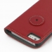 iPhone 5 5s Leather Flip Cover (Red) protective carrying case by PDair