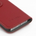 iPhone 5 5s Leather Flip Cover (Red) handmade leather case by PDair