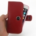iPhone 6 6s (in Slim Cover) Holster Case (Red) top quality leather case by PDair