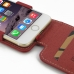 iPhone 6 6s Leather Flip Top Case (Red) genuine leather case by PDair