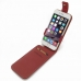iPhone 6 6s Leather Flip Top Case (Red) top quality leather case by PDair