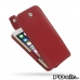 iPhone 6 6s Leather Flip Top Case (Red) best cellphone case by PDair