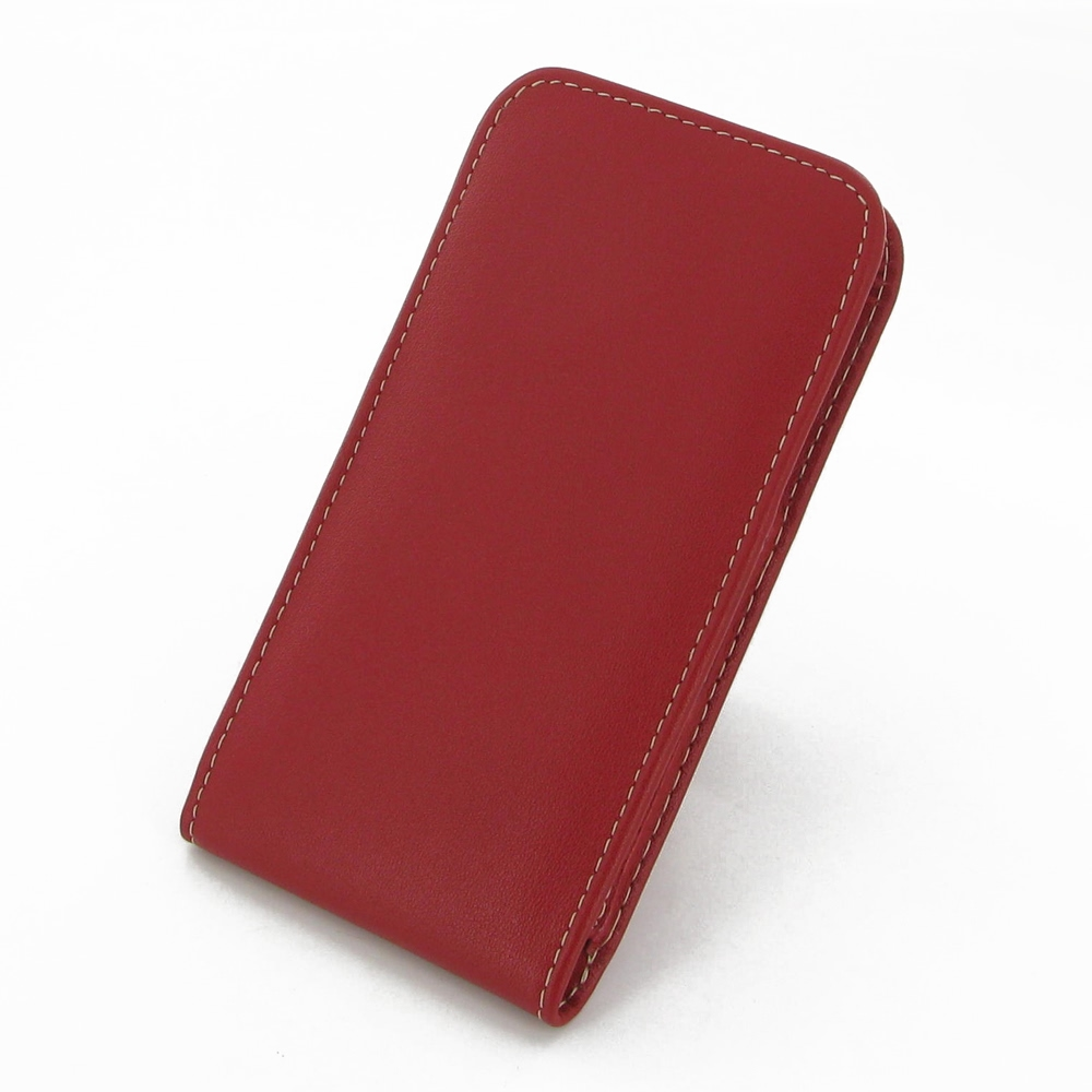 iphone 6 iphone 6s leather sleeve pouch case red. Black Bedroom Furniture Sets. Home Design Ideas