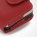 Motorola FLIPOUT MB511 Leather Holster Case (Red) protective carrying case by PDair