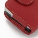 Motorola FLIPOUT MB511 Leather Holster Case (Red) handmade leather case by PDair