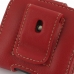 Motorola FLIPOUT MB511 Leather Holster Case (Red) genuine leather case by PDair