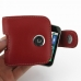 Motorola FLIPOUT MB511 Leather Holster Case (Red) top quality leather case by PDair