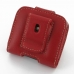 Motorola FLIPOUT MB511 Leather Holster Case (Red) custom degsined carrying case by PDair