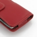 Motorola Droid Razr Maxx HD Leather Holster Case (Red) protective carrying case by PDair