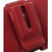 Motorola RAZR XT910 Leather Holster Case (Red) protective carrying case by PDair