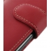Motorola RAZR XT910 Leather Holster Case (Red) genuine leather case by PDair