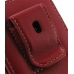 Motorola RAZR XT910 Pouch Case with Belt Clip (Red) protective carrying case by PDair