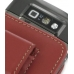 Nokia E71 Pouch Case with Belt Clip (Red) protective carrying case by PDair