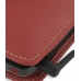 Nokia E71 Leather Sleeve Pouch Case (Red) handmade leather case by PDair