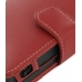 Nintendo Dsi Leather Flip Cover (Red) protective carrying case by PDair