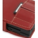 Nintendo Dsi Leather Flip Cover (Red) handmade leather case by PDair