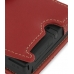 Nintendo Dsi Leather Flip Cover (Red) genuine leather case by PDair