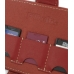 Nintendo Dsi Leather Flip Cover (Red) top quality leather case by PDair