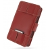 Nintendo Dsi Leather Flip Cover (Red) custom degsined carrying case by PDair