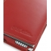 Sotec Minimum PC C102 Series Leather Flip Cover (Red) handmade leather case by PDair