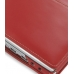Sotec Minimum PC C102 Series Leather Flip Cover (Red) genuine leather case by PDair