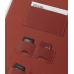 Sotec Minimum PC C102 Series Leather Flip Cover (Red) top quality leather case by PDair