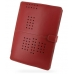 Sotec Minimum PC C102 Series Leather Flip Cover (Red) custom degsined carrying case by PDair