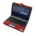 Sotec Minimum PC C102 Series Leather Flip Cover (Red) offers worldwide free shipping by PDair