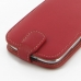 Samsung Galaxy S3 Leather Flip Top Case (Red) handmade leather case by PDair