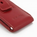 Samsung Galaxy S WiFi 4.0 Pouch Case with Belt Clip (Red) genuine leather case by PDair