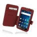 Samsung Galaxy S WiFi 5.0 Leather Flip Cover (Red) custom degsined carrying case by PDair