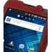 Samsung Galaxy S WiFi 5.0 Leather Flip Case (Red) top quality leather case by PDair