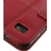 Samsung Galaxy Tab 7.0 Plus Leather Flip Carry Cover (Red) protective carrying case by PDair