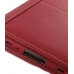 Samsung Galaxy Tab 7.0 Plus Leather Flip Carry Cover (Red) genuine leather case by PDair