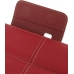Samsung Galaxy Tab 7.0 Plus Leather Flip Carry Cover (Red) top quality leather case by PDair