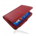 Samsung Galaxy Tab 7.0 Plus Leather Flip Carry Cover (Red) offers worldwide free shipping by PDair