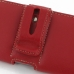 Samsung Ativ S Leather Holster Case (Red) genuine leather case by PDair
