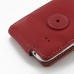 Samsung Galaxy Ace 3 Leather Flip Case (Red) protective carrying case by PDair